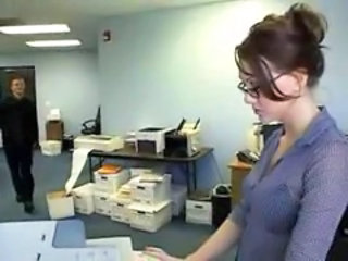 Glasses Office Secretary Teen