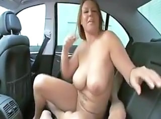 Car Mature Pov SaggyTits