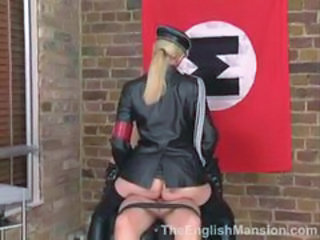 Army Ass Clothed Office Riding Uniform