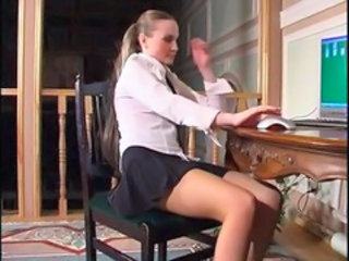 Student Teen Uniform Upskirt