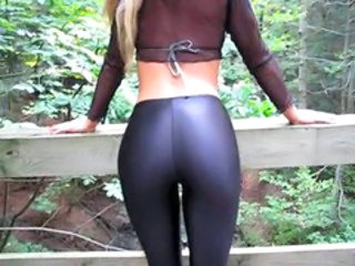 Amateur Ass MILF Outdoor