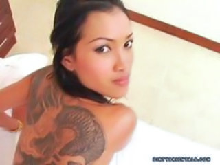 Asian Babe Cute Pov Tattoo Thai