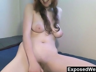 Cute Masturbating SaggyTits Solo Teen Webcam
