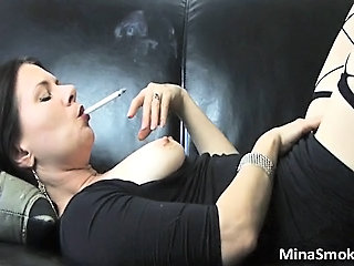 Amazing Mature Smoking