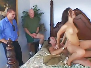 Cuckold Hardcore MILF Riding Wife