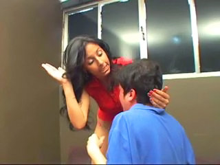 Young and Angry Mistress Bitch Slaps her Personal Slave