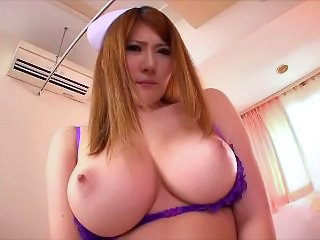 Asian Big Tits Japanese MILF Mom Nurse