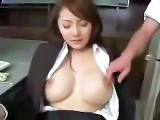 Asian Japanese MILF Natural Teacher