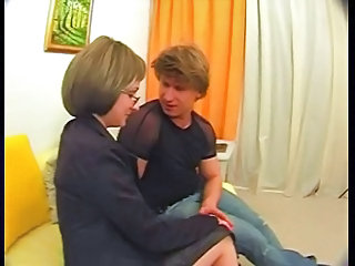 Glasses Mature MILF Mom Old and Young Russian