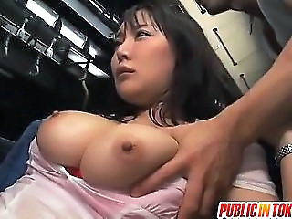 Asian Big Tits Japanese Public