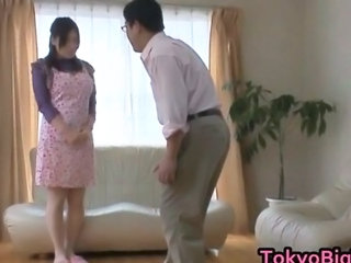 Asian Japanese Maid MILF