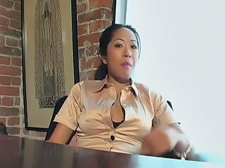 Asian MILF Office Secretary