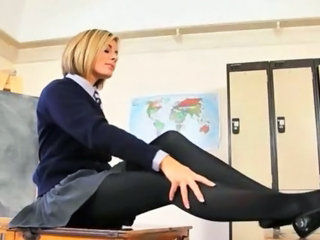 Horny teacher finger body just be proper of you