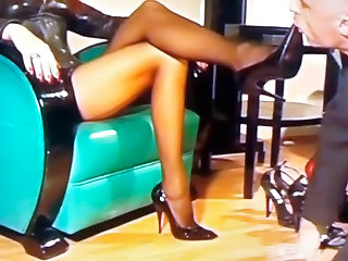 Femdom Feet Fetish Legs Stockings