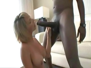 Big cock Big Tits Blowjob Interracial MILF