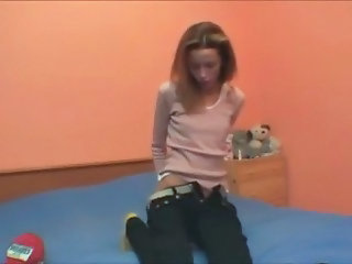 Extreme Skinny Solo Stripper Teen Webcam