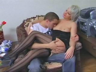 Amateur Legs MILF Mom Old and Young Stockings