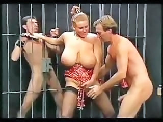 Big Tits MILF Natural Prison SaggyTits Threesome Vintage