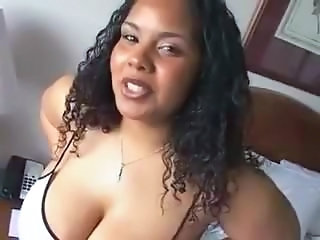 Big Tits Ebony MILF Natural