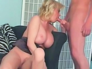 Big Tits Blowjob MILF Mom Old and Young