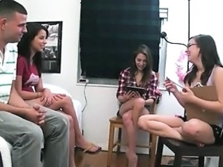 babysitter girls playing with dildo dick