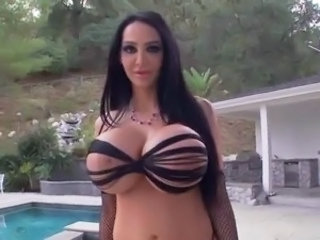 Big Tits Outdoor Pool Pornstar Silicone Tits