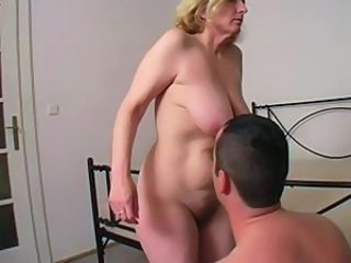 Chubby Mature Mom Old and Young SaggyTits