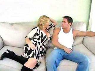 MILF Mom Old and Young Pornstar