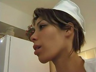 French MILF Nurse Uniform