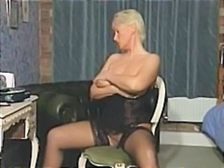 Mature Stockings Stripper Vintage