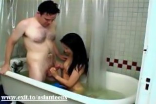 Amateur Asian Bathroom Handjob Interracial Teen