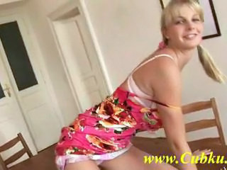Blonde Cute Pigtail Teen