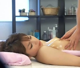 Asian Japanese Massage Oiled Small Tits Young