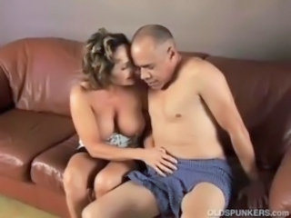 Big Tits Handjob Mature Older