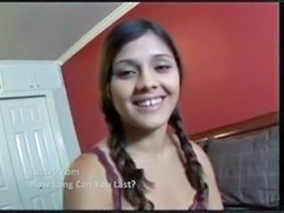 Cute Latina Pigtail Teen