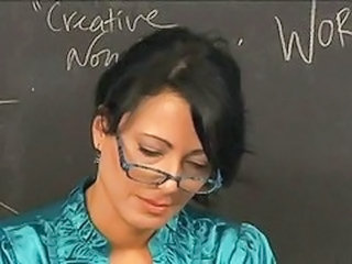 Glasses Mature School Teacher