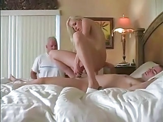 Cuckold Riding Wife