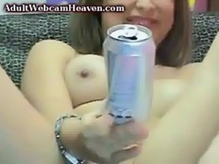 Teen girl doing perv webcam show MUST SEE