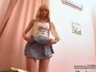 Cute Skirt Teen