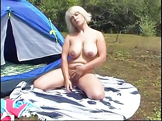 Big Tits Masturbating Mature Mom Natural Outdoor