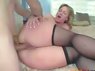 Ass Close up Hardcore MILF Stockings
