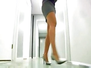 Legs MILF Office Pornstar