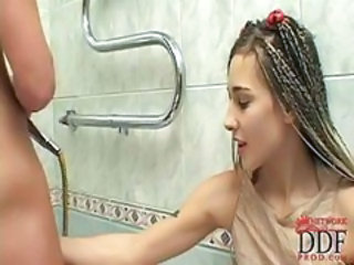 Bathroom Handjob Teen