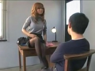 Asian Japanese Legs MILF Stockings