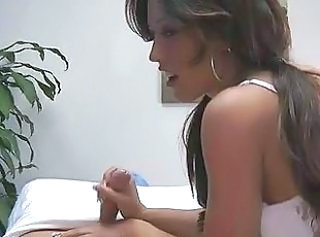 Babe Cute Handjob Massage Teen