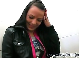 Amateur European Public Teen Toilet