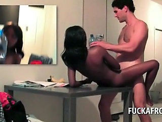 "White tourist smashing african snatch on a hotel room table"" class=""th-mov"
