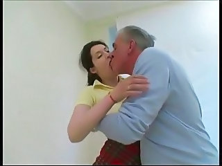 Daddy Kissing Old and Young