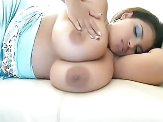 Big Tits Latina MILF Mom