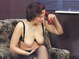 European German Lingerie Mature SaggyTits Stockings